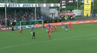 Vito Wormgoor scores in the match Sarpsborg 08 vs Brann