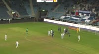 Vegard Skjerve scores in the match Viking vs Haugesund