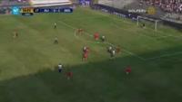 Luis Ramirez scores in the match A. Lima vs Sport Rosario