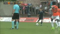 Rifet Kapic scores in the match Shirak Gyumri vs ND Gorica