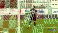 Antonio Mance scores in the match Trencin vs Torpedo Kutaisi