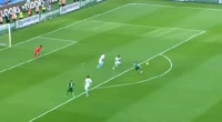 Pablo Batalla scores in the match Trabzonspor vs Bursaspor