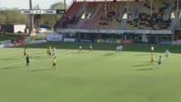 Brian Span scores in the match KuPS vs Mariehamn