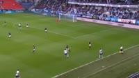 Jakob Glesnes scores own goal in the match Rosenborg vs Stromsgodset
