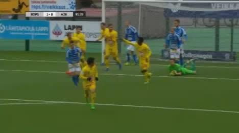 Rovaniemi PS HJK Helsinki goals and highlights