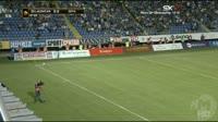 Ivan Lendric scores in the match Zeljeznicar vs Zeta