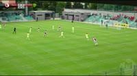 Milan Skoda scores in the match Slavia Prague vs Zilina