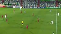 Lukas Nmecha scores in the match England U19 vs Czech Republic U19