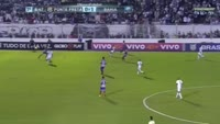 Rodrigo Gomes dos Santos scores in the match Ponte Preta vs Bahia