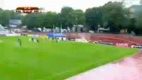 Mate Patkai scores in the match Kalju vs Videoton