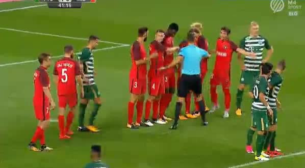 Ferencvaros Midtjylland goals and highlights