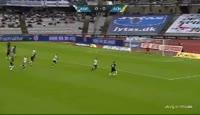 Bubacarr Sanneh scores in the match Aarhus vs Horsens