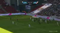 Federico Santander scores in the match FC Copenhagen vs Aalborg