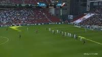 Jakob Blaabjerg scores in the match FC Copenhagen vs Aalborg