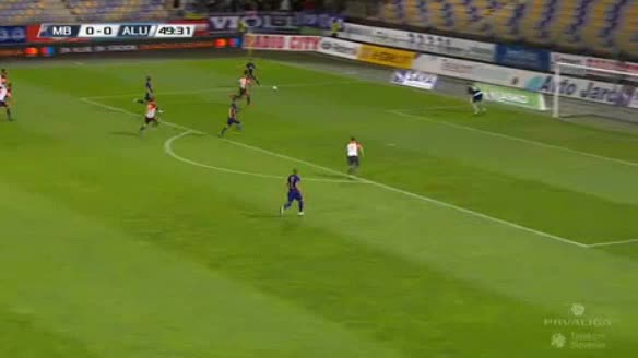 Maribor Aluminij goals and highlights