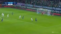 Armando Sadiku scores in the match Gornik Z. vs Legia