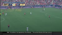 Marcus Rashford scores in the match Los Angeles Galaxy vs Manchester United