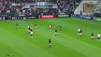 Joao Alves de Assis Silva scores in the match Corinthians vs Atletico-PR