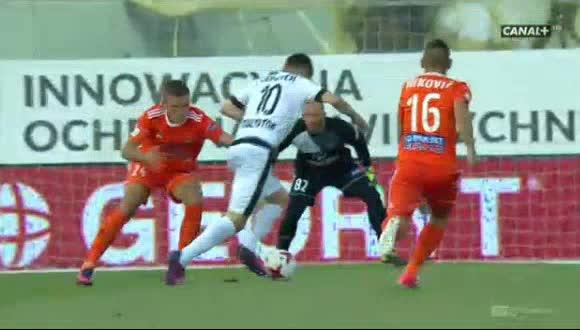 Termalica B-B. Jagiellonia goals and highlights