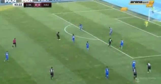 Lok. Zagreb Hajduk Split goals and highlights