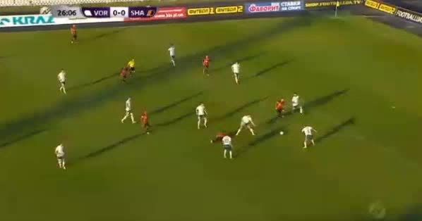 Vorskla Shakhtar Donetsk goals and highlights