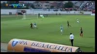 Boban Nikolov scores in the match Vardar vs Malmo FF