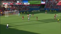 Roland Lamah scores in the match FC Dallas vs Toronto FC