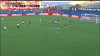 Maximiliano Urruti scores in the match FC Dallas vs Toronto FC
