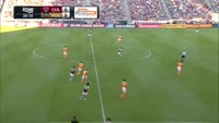 Kevin Doyle scores in the match Colorado Rapids vs Houston Dynamo
