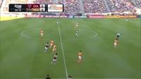 Kevin Doyle scores in the match Colorado Rapids vs Houston Dynamo