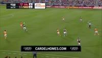 Marlon Hairston scores in the match Colorado Rapids vs Houston Dynamo