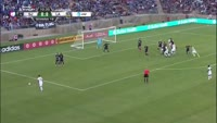 Jelle Van Damme scores in the match San Jose Earthquakes vs Los Angeles Galaxy