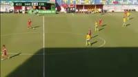 Daniel Turyna scores in the match Sweden U19 vs Czech Republic U19