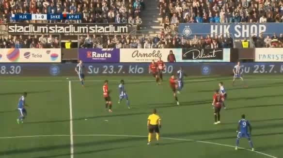 HJK Helsinki Shkendija goals and highlights