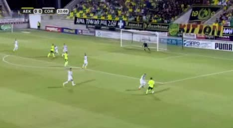 AEK Larnaca Cork City goals and highlights