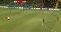 Andre Schembri scores in the match Zaria Balti vs Apollon Limassol