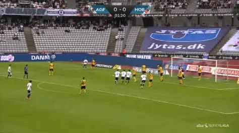 Aarhus Hobro goals and highlights