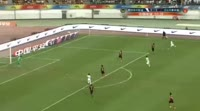 Feiya Chang scores in the match Guizhou Zhicheng vs Hebei China Fortune