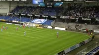 Pieros Sotiriou scores in the match Randers FC vs FC Copenhagen
