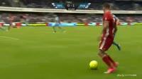 Andrija Pavlovic scores in the match Randers FC vs FC Copenhagen