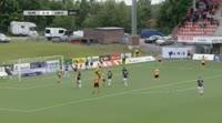 Marko Simonovski scores in the match KuPS vs Lahti