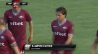 Boris Galchev scores in the match Pirin Blagoevgrad vs Septemvri Sofia
