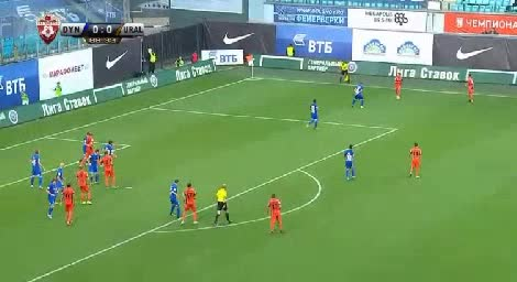Dinamo Moscow Ural goals and highlights