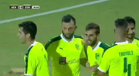 AEK Larnaca Dinamo Minsk goals and highlights