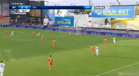 Termalica B-B. Zaglebie goals and highlights
