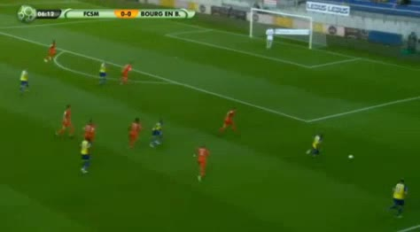 Sochaux Bourg Peronnas goals and highlights