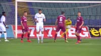 Ivaylo Dimitrov scores in the match Septemvri Sofia vs Slavia Sofia