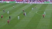 Callum McGregor scores in the match Sunderland vs Celtic