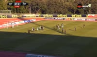 Dimitar Blagov scores in the match Beroe vs Pirin Blagoevgrad