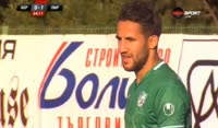 Martin Raynov scores in the match Beroe vs Pirin Blagoevgrad